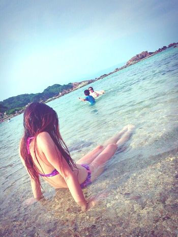 rainy days☔︎😟 晴れて〜😖💗 Relaxing Me Girl Summer Beach Life Beachgirl Enjoying Life Sea And Sky Beach Ocean Love Surfgirl