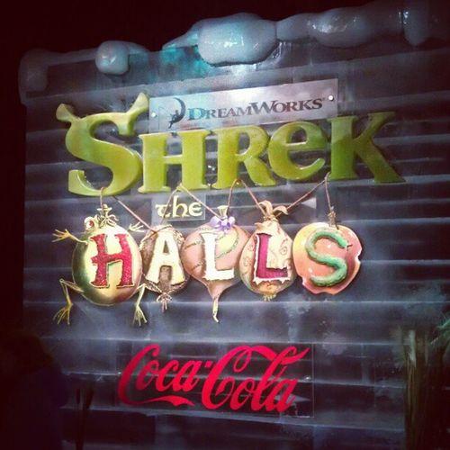 ShrekTheHalls Ice at the NationalHarbor