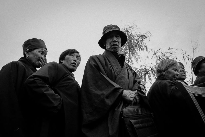Tibetan Fashion Old People Tibet Travel Tibet Culture Tibetan Buddhism Black And White Blackandwhite Day Men Old Person Outdoors People Real People Streetphoto_bw Tibet Tibet Life Tibetan  Tibetan Culture EyeEm Selects