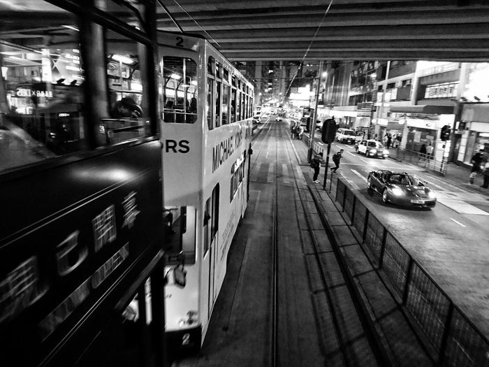Transportation Mode Of Transport Black&white Black & White Bnw_collection Noir Et Blanc Black & White Photography Bnw_captures Black And White Monochrome Nightphotography Nightlight Streetphotography Urbanphotography Street Photography Street Life Citylife Lensculture Lensculturestreets Sony Xperia XperiaZ5 Dailylife Eye4photography  Mobilephotography AMPt