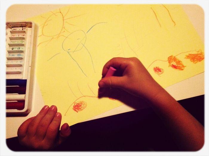 El meu petit artista creant! Drowning Artist Dibuix