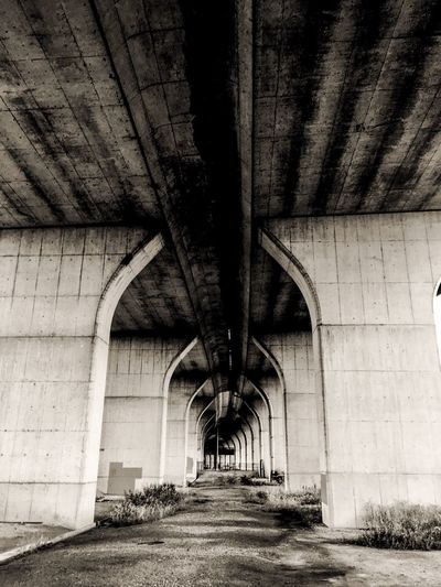 Under Highway Highway Architecture Built Structure Direction The Way Forward Bridge Transportation Connection The Architect - 2018 EyeEm Awards