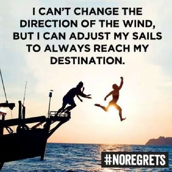 Sail away. Noregrets Travel Wanderlust
