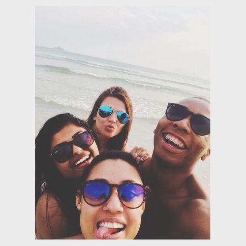 Praia com as gatas ! ✌️ Beach Férias Friends