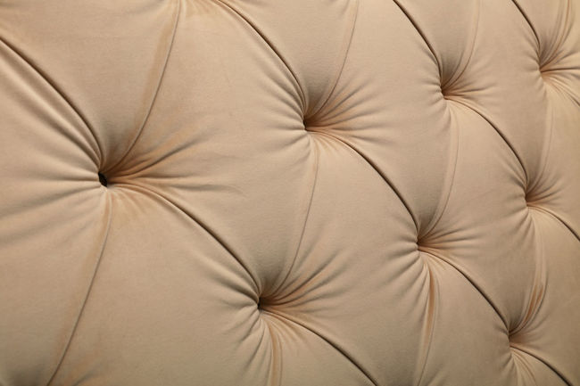 Pastel brown, beige luxury capitone Chesterfield style tufted buttoned fabric textile pattern background Backgrounds Bed Beige Capitone Chesterfield Close-up Day Decor Decoration Decorations Fabric Handmade Home Home Interior Interior Interior Design Luxury Pattern Pattern Pieces Rich Sofa Textil Textile Textile Industry Textured
