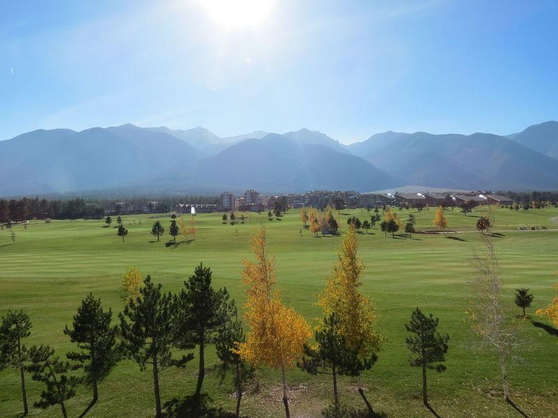 Beauty In Nature Blue Day Golf Grass Landscape Lush - Description Mountain Mountain Range Nature No People Outdoors Pirin Sky Sunlight