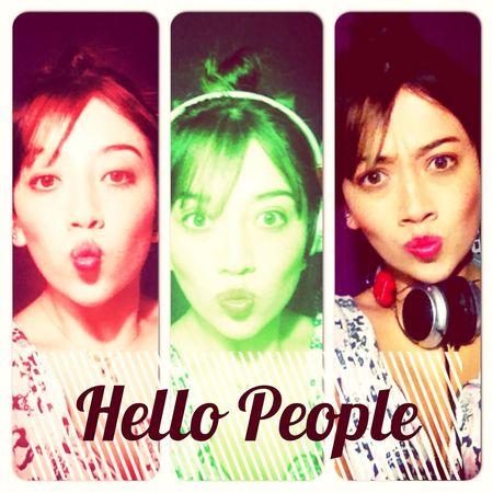Smile Enjoying Life Hello World Hello People