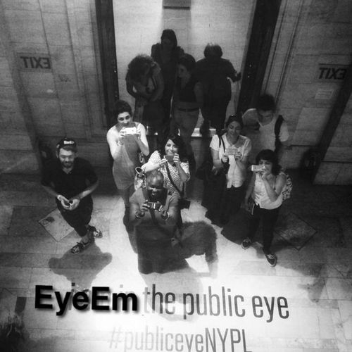 EyeEm the public eye, NYC!!! Eyeem Meetup Nyc Public Eye NYPL The Best Of New York Discover Your City Enjoying Life Walking Around Blackandwhite EyeEm Team From My Point Of View