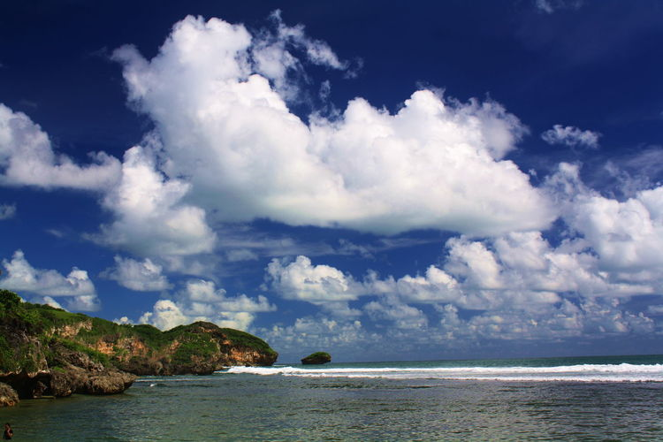 Drini Beach Beach Beauty In Nature Blue Cloud - Sky Day Horizon Over Water Landscape Nature No People Outdoors Scenery Scenics Sea Sky Tranquil Scene Tranquility Water