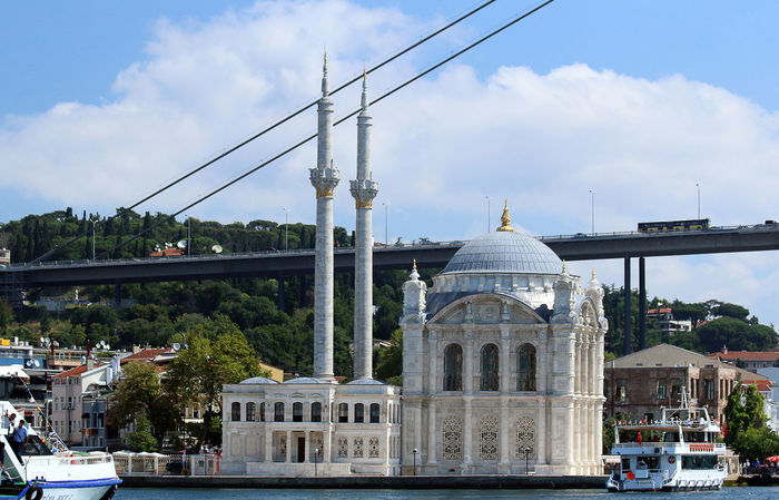 Istanbul Ortaköy Cami Ottoman Architecture Bosphorus Istanbul Bosphorus Ortaköy Mosque