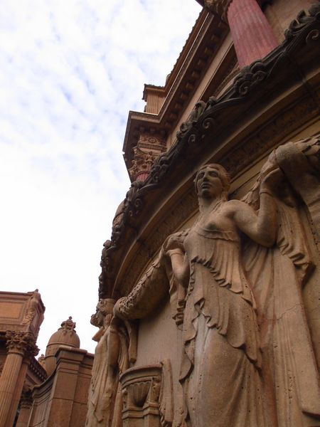 Architecture The Palace Of Fine Arts, SF Hanging Out Structures