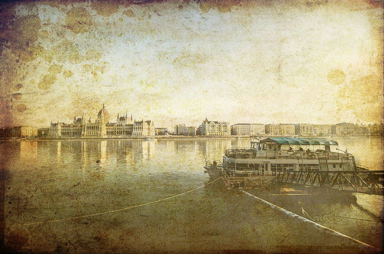 water reflection built structure river building exterior architecture transportation no people outdoors day nautical vessel Budapest, Hungary Postprocessed Landscape Landscape_photography