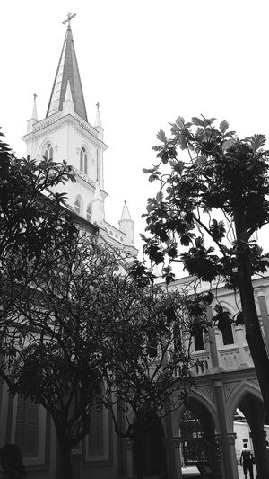 CHIJMES formerly CHIJ, a Catholic Convent 132 YearsNational Monument Girls' School 129 Years Architecture Eyeem Architecture EyeEm Gallery Eyeemcollection Eyeemphotography EyeEm Bnw