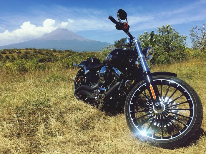 Sky Real People One Person Transportation Sunlight Men Nature Motorcycle Mountain Lifestyles Mode Of Transportation Cloud - Sky Outdoors