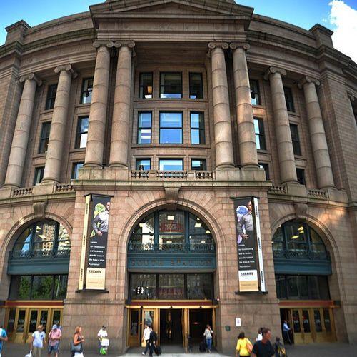 Southstation in Boston Massachusetts BostonMassachusetts Beautiful Buildings Citylife Eastcoast Beautifulcity City