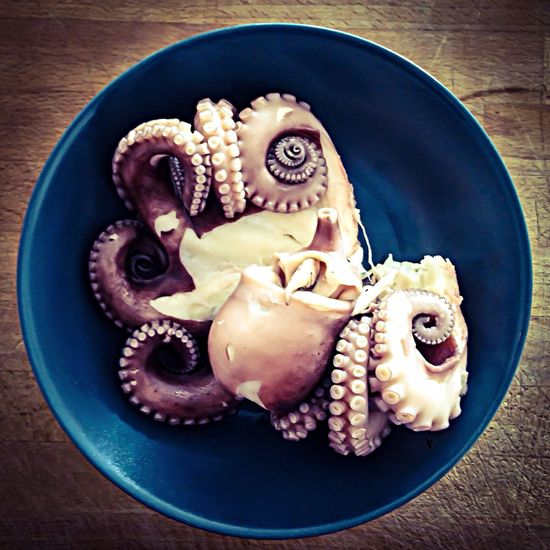 Octopus Food Fish Cooking Visual Feast