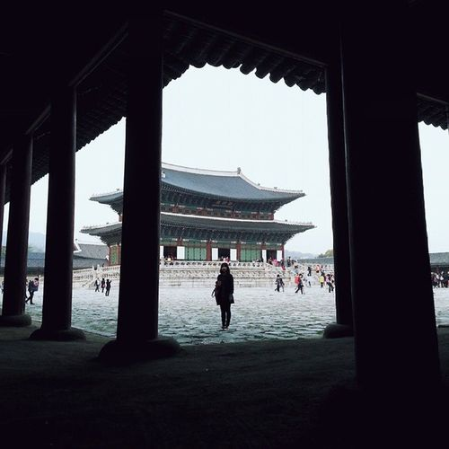 Everycornerofpalace Gyeongbokgung From a corner with @p.lum