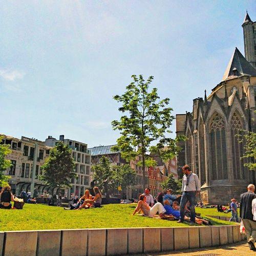 Gent Ghent Nextterrace Stadscafe