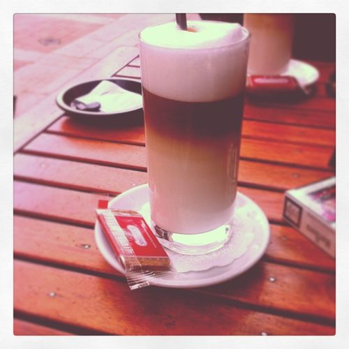 Vanilla Coffee Latte Time