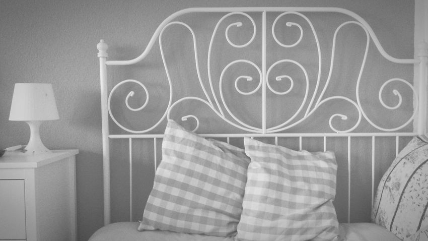 IKEA Likealways Bett Bed Time Blackandwhite Black & White