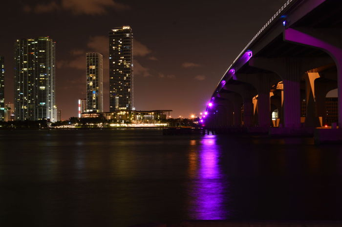 Cityscape Landscape Night Photography Miami