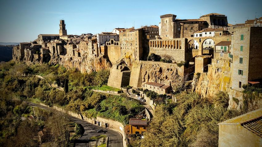 Pueblo antiguo Arquitecturephotography Construccion Medieval Ancient Civilization Weapon Ancient Castle Old Ruin Destruction King - Royal Person Sky