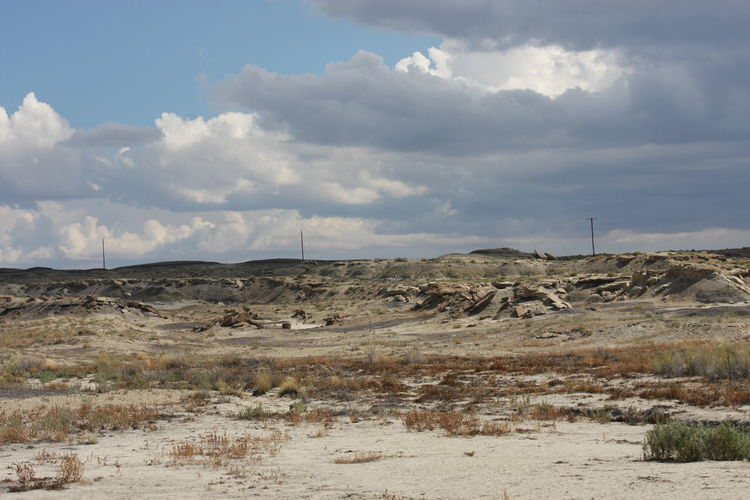 Bisti Wilderness New Mexico, USA Bisti Badlands Day Nature New Mexico Skies No People Outdoors Sky