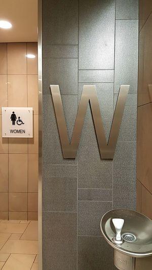 Women Ladies Ladiesroom W Bathroom Modern Indoors  No People Neutral Colors Gender Pride Girls Girlsroom