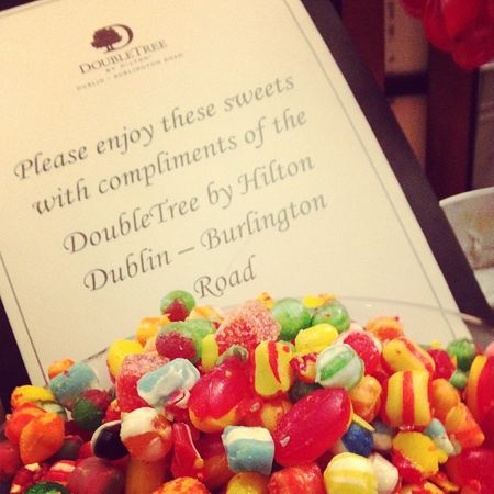 Thanks again to DTDublinHotel for the #Sweetup at #tbex. Sweetup Tbex