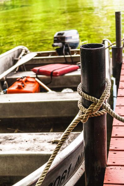Home Is Where The Art Is Fishing Boat Gone Fishing Fishing Motor Boat New Hampshire Lake Winnipesaukee Rustic Quaint  Family Time Sailors Knots Knots Docked Dock Woodsy Early Morning Morning Calm Metal Boat Weathered Tarnished Simplicity Serenity