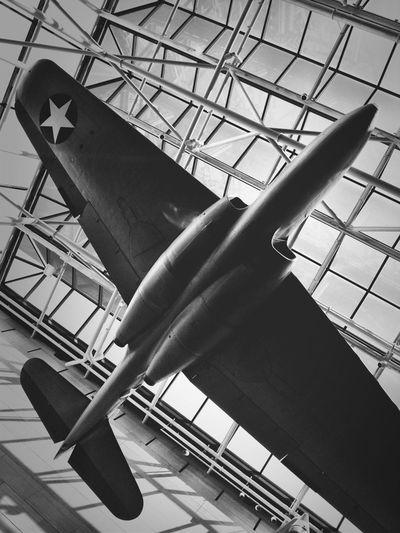 Blackandwhite Airplane