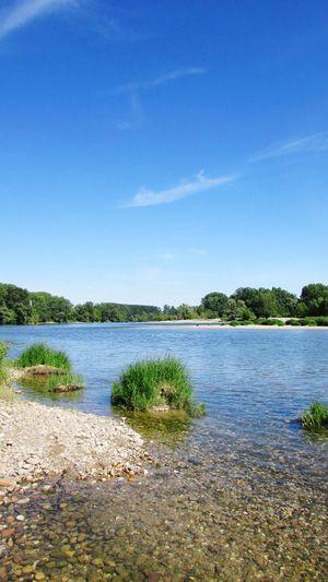 La Garonne France Fleuve La Garonne Travel Marmande Travel Destinations Fleuve Lot Et Garonne Tree Water Clear Sky Lake Blue Sky
