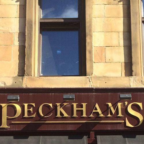 Glasgow  to Peckham Blac&white