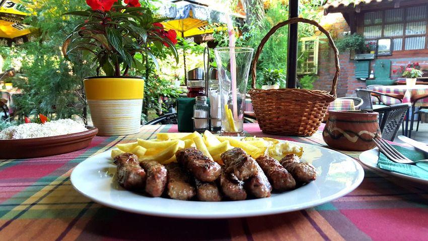 Food Food Photography vrnjacka banja Srbija Restaurant Cevapi Banja Summer Table On The Table Delicious Serbia Traditional Food Porn Food