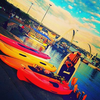 Kayak Lake Outdoors Sky instagood instamood instadaily instamoment instaplaces instagramers