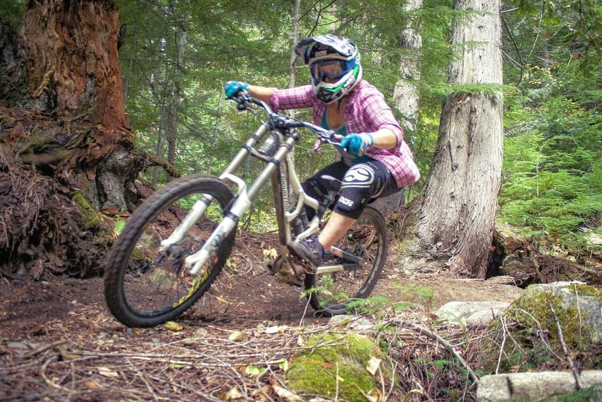 She rallies. Bicycle Transportation Mode Of Transport Tree Trunk Non-urban Scene Outdoors WoodLand Colour Of Sport British Columbia Pacific Northwest  Canada Keep Exploring Mountain Biking Mountain Bike Mountain Biker Mountain Bike Trail. Mountain Bikes Outdoorwomen Outdoor Sports Extreme Sports Adventure Sports Bike People And Places
