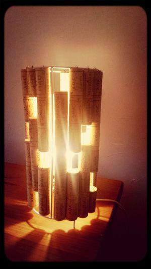 New Lampe Bouchons Creation Creeadom nouveauté