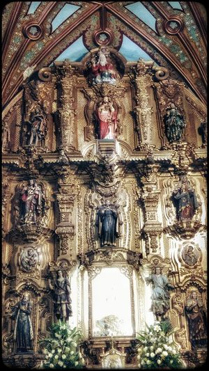 Architecture Full Frame Built Structure No People Low Angle View Indoors  Backgrounds Day Cultures Architecture And Art church arte Arte Barroco Retablo Retablo Digno Ejemplo Del Arte Barroco GDL MEXICO