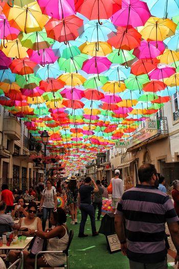 Umbrellas Umbrella☂☂ Multi Colored Men Women Hanging Architecture