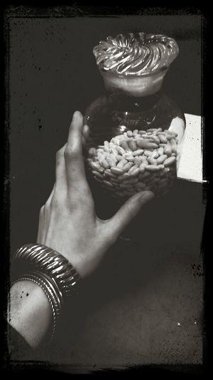 Monochrome Food Jewelry Show Me Your Hand