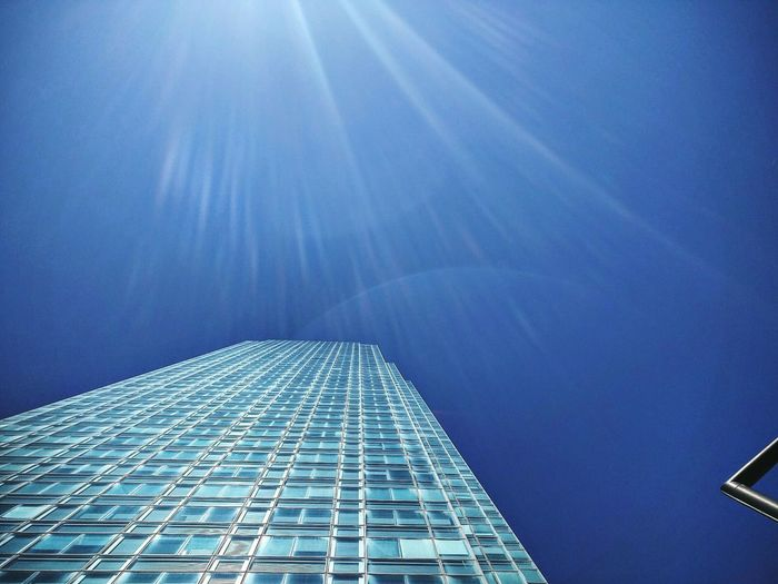 Sky in New York city Building Details Architecture_collection Architecture Miinimalism Minimal Abstract Abstract Photography Blue Sky Cityscape Skyscraper Modern City Technology Backgrounds Cyberspace Architecture Building Exterior Built Structure