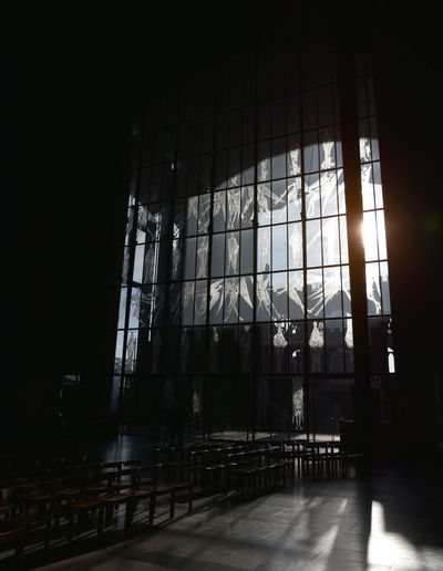 1960s Design Coventry Cathedral - UK Architecture Atmospheric Mood Day Empty Indoors  No People Religious Architecture Window The Graphic City