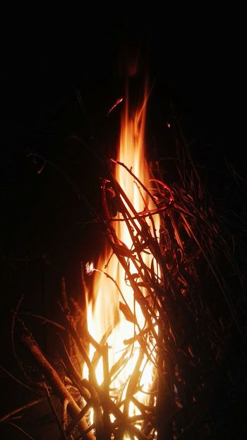 Heat - Temperature Burning Night Flame Outdoors Freshness Nature Meeting Friends Autumn Be. Ready.