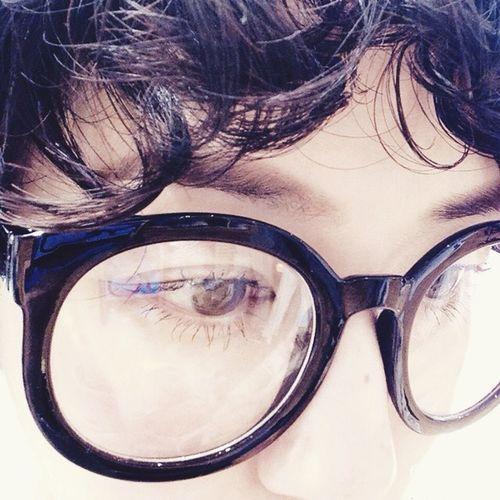 my new glasses? Glasses My Favorite  アラレちゃん 3coins