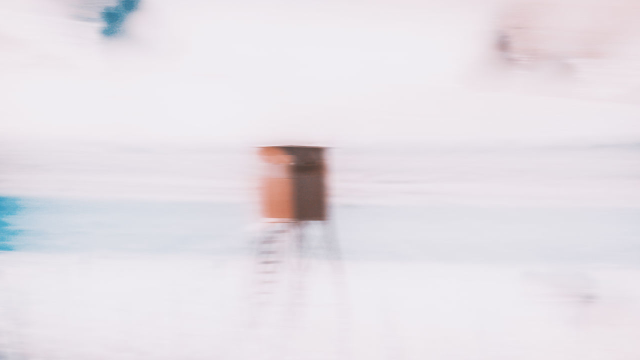 BLURRED MOTION OF SEA BY FACTORY