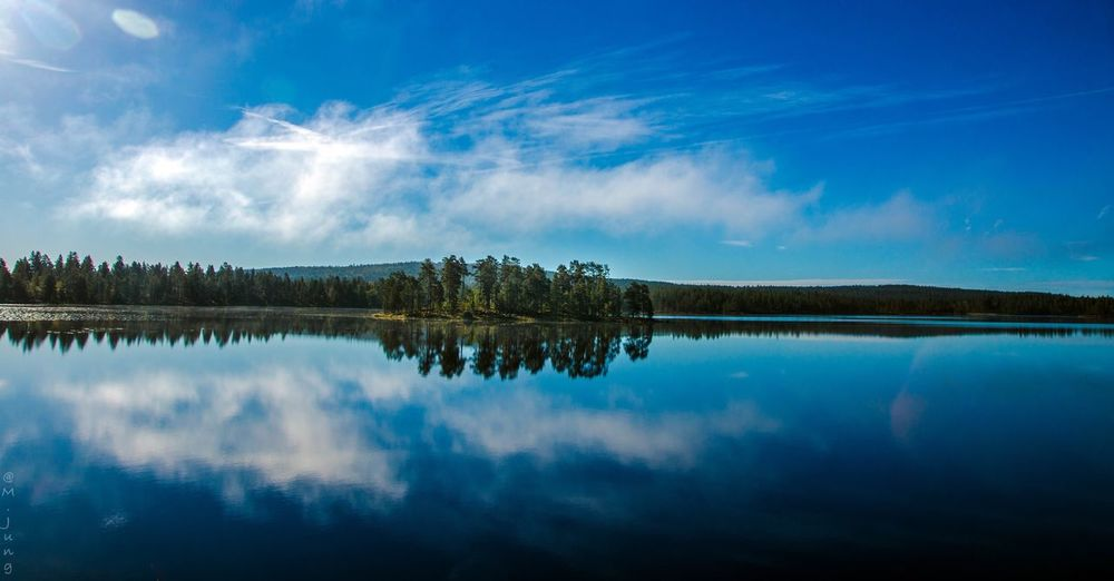 Dalarna, 🇸🇪 Sweden Reflection Nature Tree Tranquil Scene Water Beauty In Nature Scenics Lake Sky Tranquility No People Standing Water Symmetry Outdoors Idyllic Day Clam Beauty In Nature