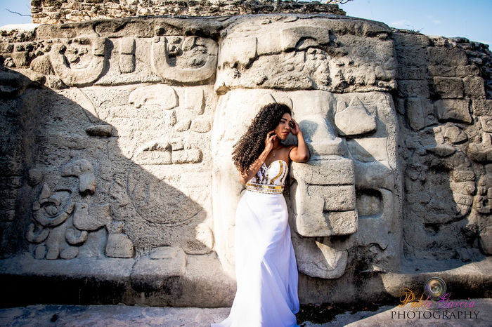 Mayan Civilization depicting their state of the art architecture . Belize is rich in Mayan Heritage , Enjoy this Ruin and Mayan God head #architecture #belize #Cerros #Corozal #fashion #Female #MayanGo #Mayaruin #PabloGarciaPhotograph #photography First Eyeem Photo