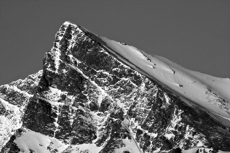 Krivan Krivan Hill Rock Formation Tatra Mountains Vysoke Tatry Beauty In Nature Blackandwhite Mountain Mountain Peak Scenics - Nature Snow Snowcapped Mountain Tatra Telephoto Winter