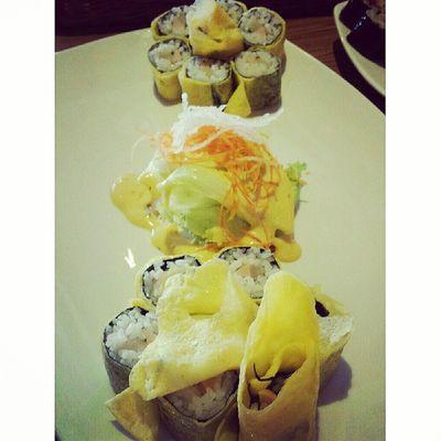Eeg mari Schoolfood Centralparkmall Lunch Japanfood japan instafood jakarta indonesia egg sushi