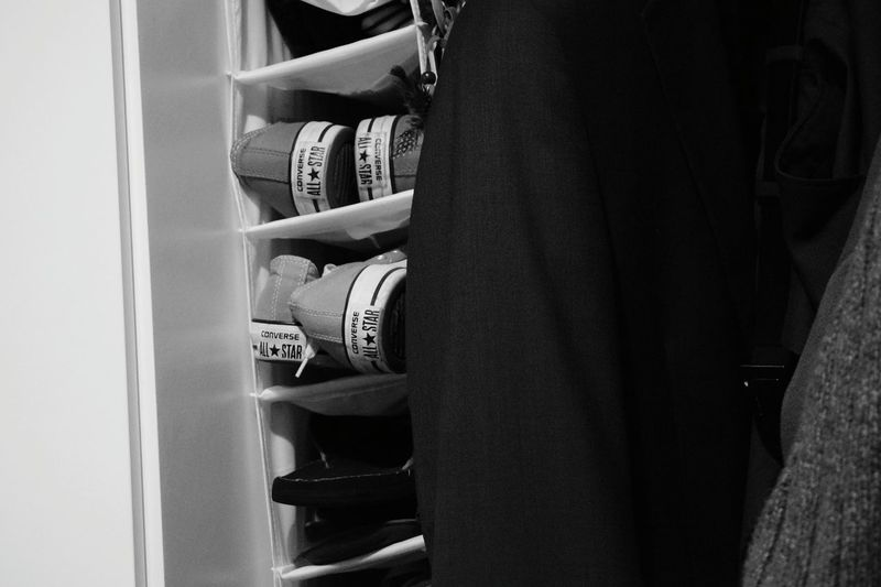 Black And White Black & White Shoes All Stars Converse Modern Life Shoes Rack Things I Like Chuck Taylor Trendy Clothes Trainers Snickers Organised